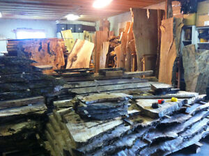 Live edge wood slabs Abbotsford