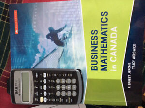 Business Mathematics in Canada, 9th Edition