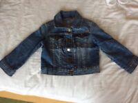 Gap girls 2year old denim jacket