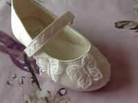 NEW size 4 girls shoes formal bridesmaid