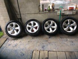 Genuine BMW alloys for sale