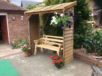 Garden bench/arbour