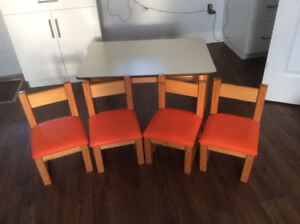 Vintage Child's table and chairs