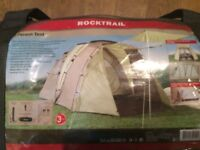 Rocktrail 4-person Tent & Carrier - Only Used Once