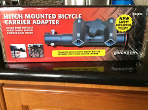 Hitch Mounted Bicycle Carrier Adapter