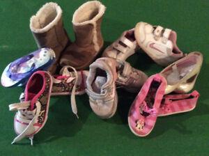 Toddler Girls size 7 shoe lot