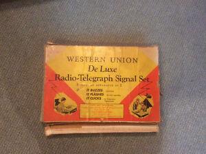Jeu  telegraphe vintage