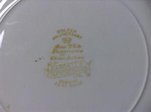 Golden Anniversary Bone White Dinnerware Kawartha Lakes Peterborough Area image 3