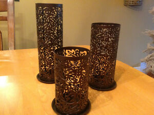 Partylite Candle Holders Set of Three