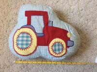 Tractor pillow from JoJo Maman Bebe
