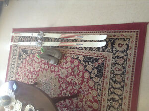 Skis & boots size 6