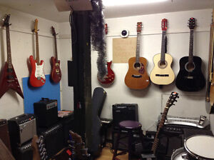 GUITAR SALE $200 +up, acoustic, electric, Fender, Yamaha etc