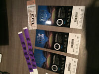4 tickets and field passes