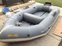Avon 9 foot Inflatable Dingy, dinghy