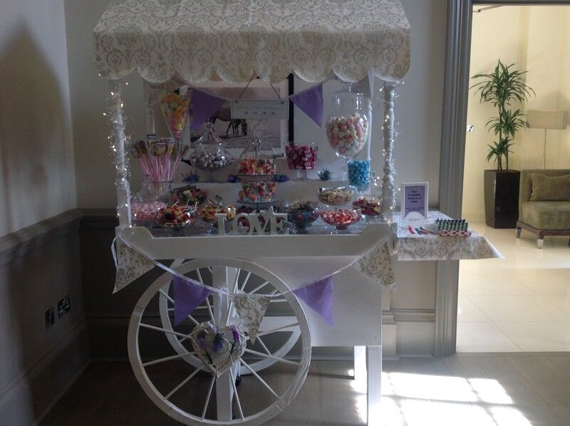 Beautiful large sweet cart for sale