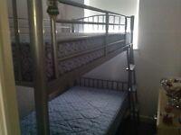 Bunk beds steel framed