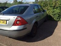 2005 Ford Mondeo Silver manual bargain