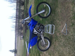 Yz250F with 299 big bore kit