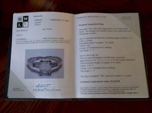 Diamond Engagement Ring Sarnia Sarnia Area image 1