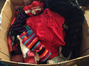 Large box of XS ladies clothes