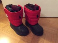Ralph Lauren Polo young child snow boots £12