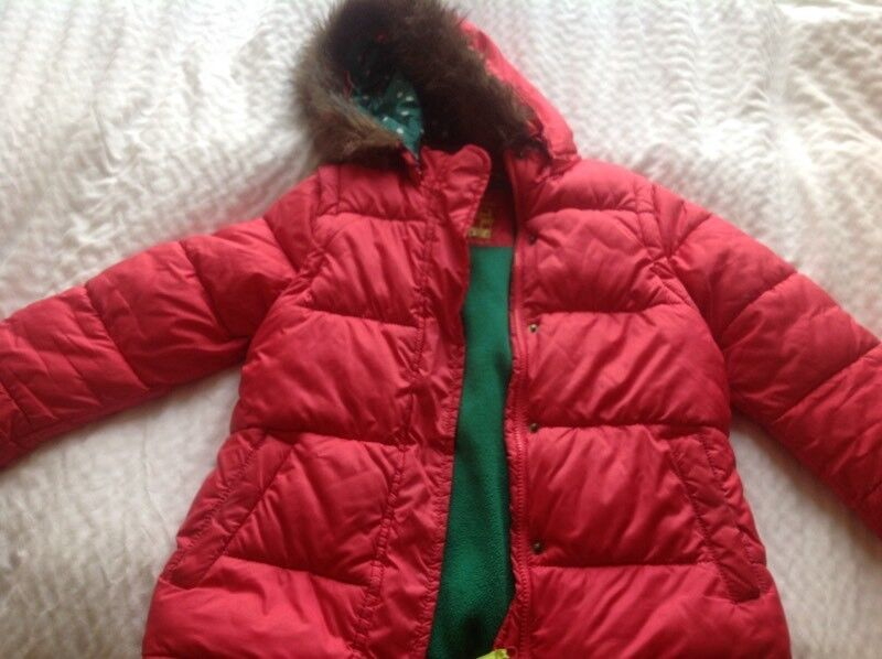 6c8a3acc0467 Boden girls hooded coat age 9 - 10