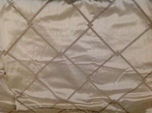 Beautiful Rod Pocket Curtain Panels - 3 of them