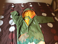 Boys rain coat and baseball outfit size 4t