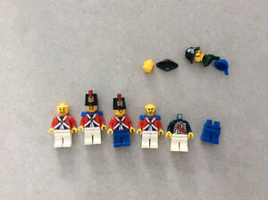 Lot de figurines Lego Pirates
