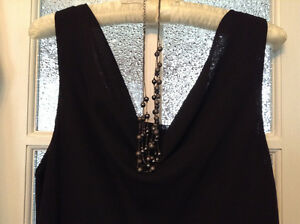 Black party-cruise dress - Size 16 - Tillsonburg
