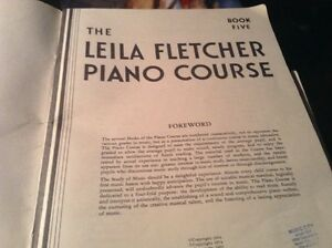 THE LEILA FLETCHER PIANO COURSE BOOK 5. MONTGOMERY MUSIC INC. Gatineau Ottawa / Gatineau Area image 4