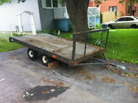 Trailer/Remorques 4 roues - Longueuil