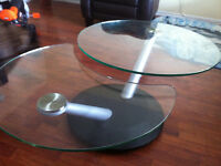 Heavy Duty Glass Coffee Table