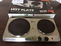 Delta kitchen double hot plate.