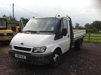 Ford Transit 350 drop side pick up