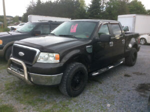 2007 Ford F 150 4x4 Flair side crew cab 5.4 Tritan,Auto,june MVI