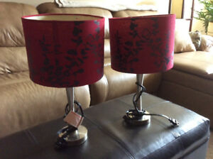 Small Table Lamp Set - $15