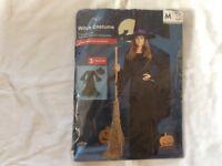 Halloween witch costume ladies size medium