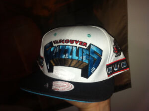 Vancouver grizzlies mitchell and ness hat snapback new nba