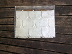 Old steel roofing panels for sale........... $4.00/piece