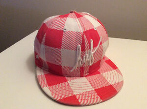 Huf New Era Plaid Snap Back Ball Cap, One Size fits all
