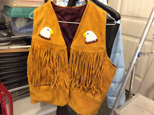 REDUCED!  REDUCED!,   NATIVE AMERICAN BEADED VEST Prince George British Columbia image 1