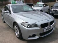 2014 BMW 525 d M Sport Auto fsh leather nav BUY FOR £65 PER WEEK