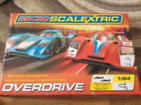 Microscalextric overdrive set complete