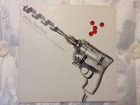 "Kinky Machine - Shockaholic 10"" clear red vinyl single 1993"