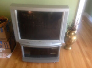 JVC 32 inches TV and stand