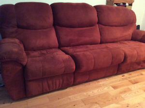 Comfortable Double Sofa with a pull-out Queen bed