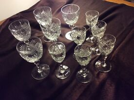 Beautiful Royal Brierley Glassware