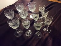 Beautiful Royal Brierley Glassware
