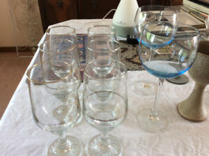 Various stemware for sale